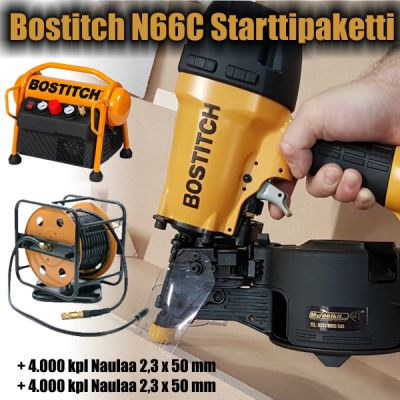 Bostitch N66C Starttipaketti